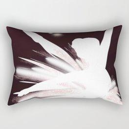 Space Ballerina (2 of 3) Rectangular Pillow