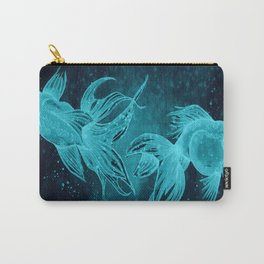Goldfishes at night Carry-All Pouch