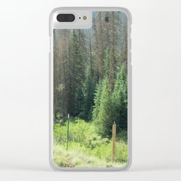Exuberance of a Wanderer Clear iPhone Case