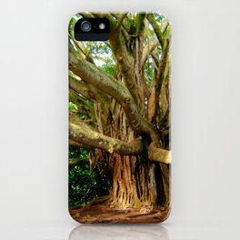 Hana Banyan iPhone Case