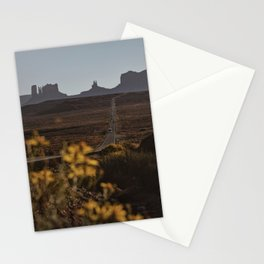 Monument Valley Flowers Stationery Cards