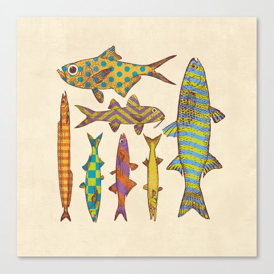 Freshwater Freaks Canvas Print