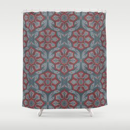 Flowers and laurels Shower Curtain