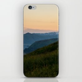 Island Mountaintop Zoomed iPhone Skin