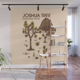 Joshua Tree National Park Wall Mural