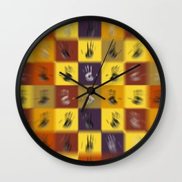 Free Hands II Wall Clock