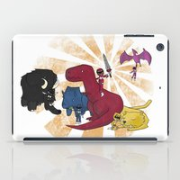 power rangers iPad Cases featuring Rangers Rising by JoSumdac