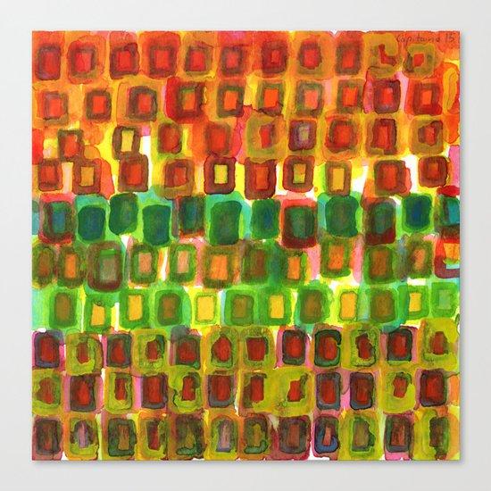 Frames under Color Canvas Print