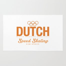 Dutch - Speed Skating Rug