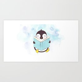 PENGUIN READS Art Print