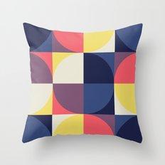 Quarters Quilt 1 Throw Pillow