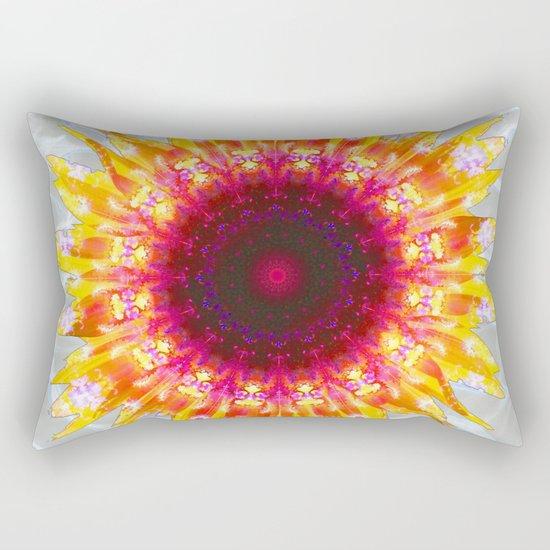 sunflower happiness Rectangular Pillow