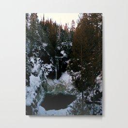 Minnesota Winter Metal Print
