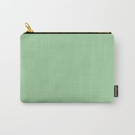 Pastel Green Carry-All Pouch