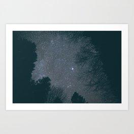 Stars V Art Print