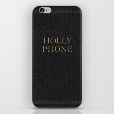 Holly Poster iPhone Skin
