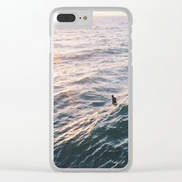 Into the Surf and Sun Clear iPhone Case