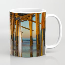 Newport Pier Morning Coffee Mug