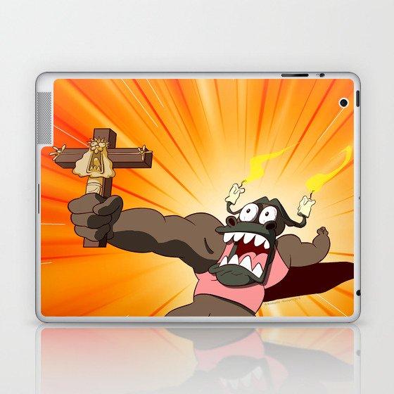 Grocosto VS the world (Peepoodo) Laptop & iPad Skin