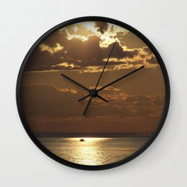 Awesome Sea Scene Wall Clock