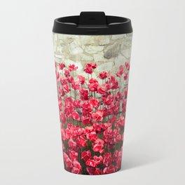 Tower Poppies 04A Travel Mug