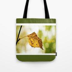 Snapshot of Autumn {Panoramic} Tote Bag