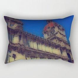 Spanish Architecture Rectangular Pillow