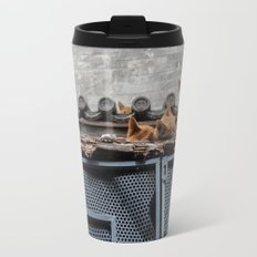 A Bunch of Cats Travel Mug