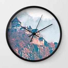 Castle 2 Wall Clock