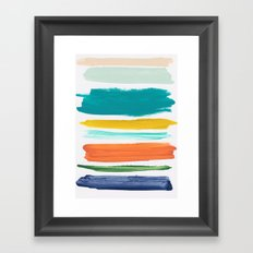 Elements 2 Framed Art Print