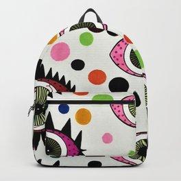 Psychedelic Eye Backpack