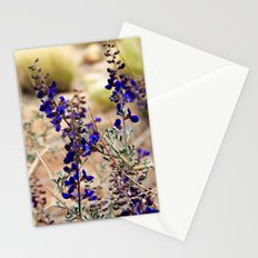 Blue Desert Lupine Stationery Cards