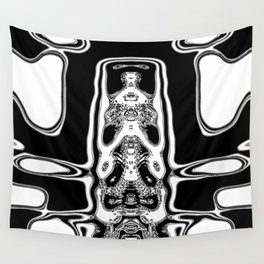 Mono alien Wall Tapestry