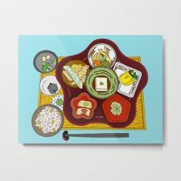 Japanese Veggie Platter Metal Print