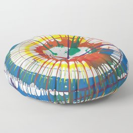 Colorful Spin Floor Pillow