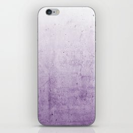 Radiant Orchid Purple Ombre iPhone Skin