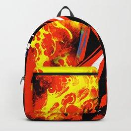 Bat on Fire Backpack
