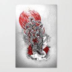 Immortal Bird Canvas Print