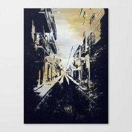 Calle Molino, Ronda, Málaga, España Canvas Print