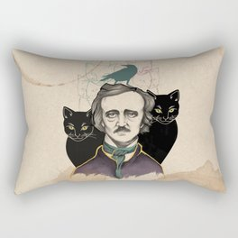 Edgar Allan Poe Rectangular Pillow
