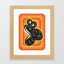 lumpy Framed Art Print