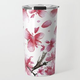 Cherry Blossoms #society6 #buyart Travel Mug