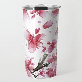 Cherry Blossoms #society6 #buyart Travel Mug