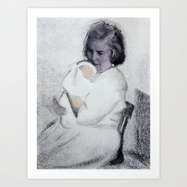 Grandma Jones Art Print