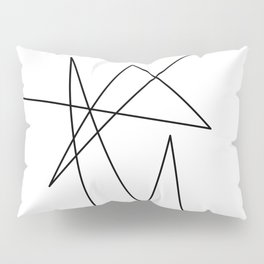 Moonokrom no 6 Pillow Sham