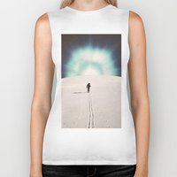 eugenia loli Biker Tanks featuring Get Here by Djuno Tomsni