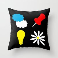 paper towns Throw Pillows featuring John Green Books - Fault In Our Stars, Abundance Katherines, Paper Towns, Alaska by denise