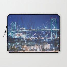 Bridge of Winter Laptop Sleeve