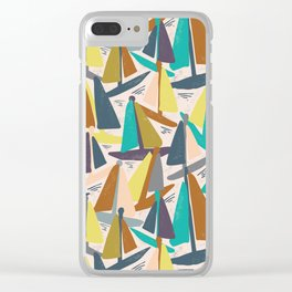 Sydney Harbour Yachts Clear iPhone Case