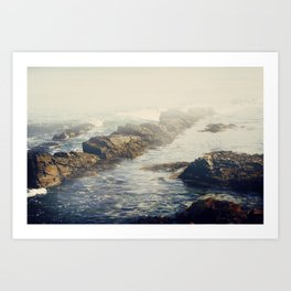 Ocean state Art Print